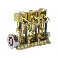 SAITO T3DR Steam Engine (MOTORE A VAPORE)