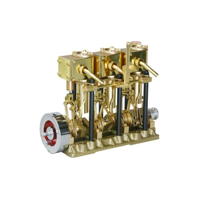Saito T3dr Steam Engine Motore A Vapore X3 Models
