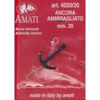 ANCORA AMMIRAGLIATO MM.20