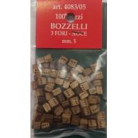 BOZZELLO NOCE 3 FORI MM.5