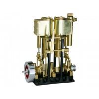 SAITO T2DR-L Steam Engine (MOTORE A VAPORE)