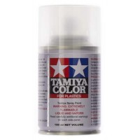 TAMIYA - TS-80 Flat Clear SPRAY LACQUER 100ml
