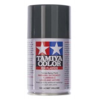 TAMIYA - TS-82 Black Rubber SPRAY LACQUER 100ml