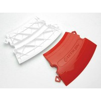 "TEAM-TETSUJIN - Track KERBS System ""250R"" 50pcs (RED & WHITE Half) Made in Japan - SISTEMA DI CORDOLI PER PISTA              ..."