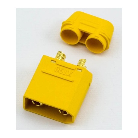 XT90 CONNECTOR MALE - CONNETTORE XT90 MASCHIO (1Pz)
