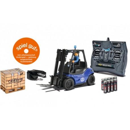 MULETTO 1:14 THW Forklift 2.4G 100% RTR (BLU)                                                                                  .