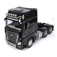 TAMIYA - R/C CAMION MERCEDES BENZ ACTROS 3363 6X4 GigaSpace Black Edition 1:14 Kit                                             .