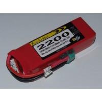 Lipo Xell-Sport 11.1V 2200MAH 3S 30C MPX