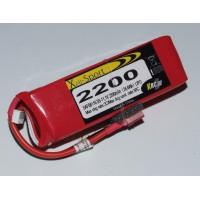 Lipo Xell-Sport 11.1V 2200MAH 3S 30C DEANS