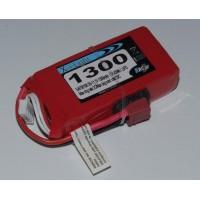 Lipo Xell-Light 11.1V 1300MAH 3S 20C DEANS