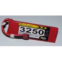 Lipo Xell-Sport 7.4V 3250MAH 2S 30C DEANS