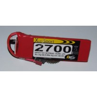 Lipo Xell-Sport 7.4V 2700MAH 2S 30C DEANS