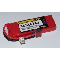 Lipo Xell-Sport 7.4V 2200MAH 2S 30C DEANS