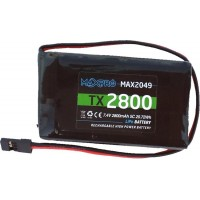 MAXPRO - BATTERIA LiPo TX 7,4V 2800MAH 5C (SPINETTA SERVO)