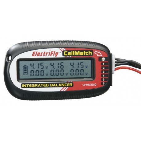 ELECTRIFLY CELLMATCH 2S-6S BALANCING MET