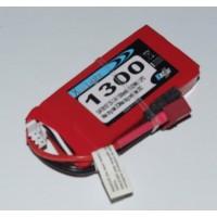 LIPO XELL-LIGHT 7.4V 1300MAH 2S 20C DEANS