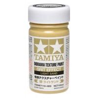 TAMIYA - FONDO PER DIORAMA SABBIA - Diorama Texture Paint Grit Effect LIGHT SAND 100ml