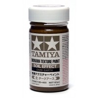 TAMIYA - FONDO PER DIORAMA TERRA SCURA - Diorama Texture Paint Soil Effect DARK EARTH 100ml