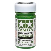 TAMIYA - FONDO PER DIORAMA VERDE PRATO - Diorama Texture Paint - Grass Effect GREEN 100ml