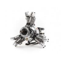 SAITO FG-19 R3 Radial Gasoline Engine (4Tempi Benzina) CON CENTRALINA E SCARICHI FLESSIBILI                                    .