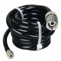 "FENGDA - BD26 TUBO ARIA PVC L:150cm - 1 ATTACCO 1/8"" + 1 ATTACCO M5                                                           .."