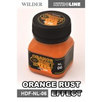 ADAM WILDER - NITRO LINE EFFETTO RUGGINE ARANCIONE (50ml) #HDF-NL-06                                                           .