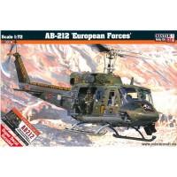 MISTER CRAFT - AB-212 'EUROPEAN FORCES' 1:72 CON EXTRA DECAL PER MARINA MILITARE E AERONAUTICA ITALIANA                      ...