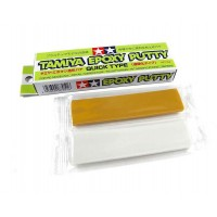 TAMIYA EPOXY PUTTY (25g) Quick type - STUCCO EPOSSIDICO BICOMPONENTE RAPIDO