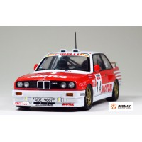 BEEMAX - AUTO BMW M3 (E30) '89 TOUR DE CORSE RALLY VERSION 1:24 (#18)
