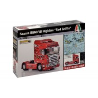 ITALERI - 1/24 SCANIA R560 V8 RED GRIFFIN