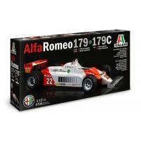 ITALERI - 1/12 ALFA ROMEO 179/179C