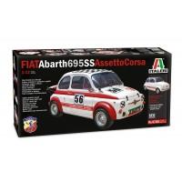 ITALERI - 1/12 FIAT Abarth 695SS / 695SS Assetto Corsa