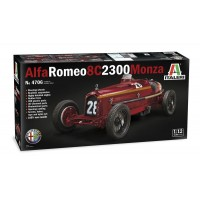 ITALERI - 1/12 Alfa Romeo 8C 2300 Monza Tazio Nuvolari