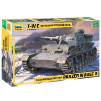 ZVEZDA - 1/35 PANZER IV Ausf.E