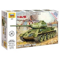 ZVEZDA - 1/72 T-34/85 SOVIET MEDIUM TANK