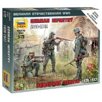 ZVEZDA - 1/72 GERMAN INFANTRY EASTERN FRONT 1941