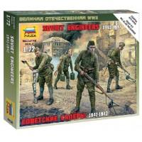 ZVEZDA - 1/72 SOVIET ENGINEERS WWII