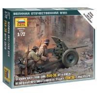 ZVEZDA - 1/72 GERMAN ANTI TANK GUN PAK 36