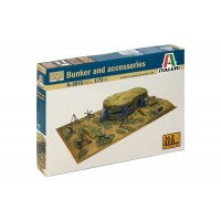 ITALERI - 1/72 BUNKER AND ACCESSORIES WWII