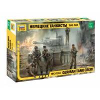 ZVEZDA - 1/35 GERMAN TANK CREW WWII LATE