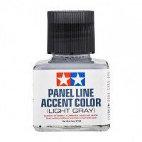 TAMIYA - PANEL ACCENT LINE Light Gray - VERNICE PER ACCENTUARE I DETTAGLI (40ml)