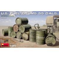 MiniArt - 1/35 U.S. Fuel Drums (55 Gals.)