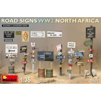 MiniArt - 1/35 ROAD SIGNS WW2 NORTH AFRICA