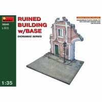 MiniArt - 1/35 RUINED BUILDING W/BASE