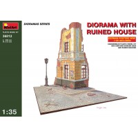 MiniArt - 1/35 DIORAMA W/RUINED HOUSE