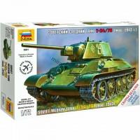 ZVEZDA - 1/72 SOVIET TANK T-34/76