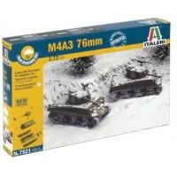 ITALERI - 1/72 M4 A3 76MM