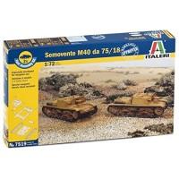 ITALERI - 1/72 SEMOVENTE M 40 DA 75/18