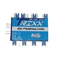 TRIXX PROGRAMCARD PER ESC BLUE LINE