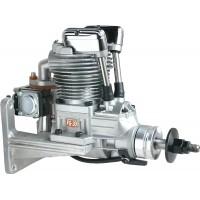 SAITO FG-30B Gasoline Engine (4Tempi Benzina) CON CENTRALINA, CASTELLO MOTORE IN ALLUMINIO E SILENZIATORE